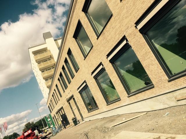Etapp 2. Terrassmarkiser Gränby, Uppsala.